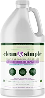Concentrate, All Purpose, Cleaner Spray, clean & simple™ SUPER CLEANER concentrate, By Sierra Solutions