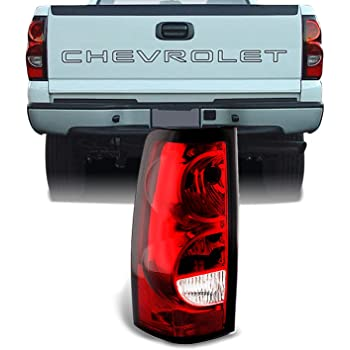 Tail Light Lamp Assembly Pair LH RH Left Right Sides for Silverado Pickup Truck