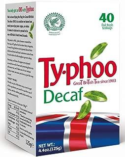 Typhoo Decaf Tea Box 40 Tea bags