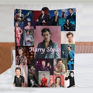 Harry Styles Coperta in Micro Pile ultramorbida Coperta Stampata Digitale Morbida e Calda Coperta da Lancio in Flanella Re...