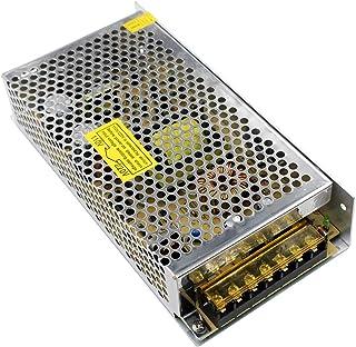 KeeYees DC 12V 10A 120W Transformador de Voltage Conmutación Fuente de Alimentación AC 110V-220V Universal Regulada para Impresoras 3D Tira LED Televisión Sistema de Seguridad