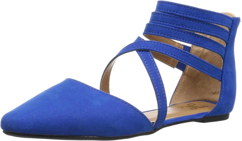 Brinley Co Women's Mirin Flat Sandal