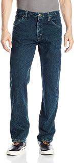 جينز جينز جينز رجالي كلاسيكي بمقاس عادي من Wrangler