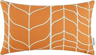 Best orange chevron pillow cover Reviews