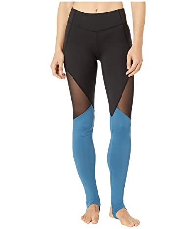 Bloch Panelled Leggings (Seaport) Women