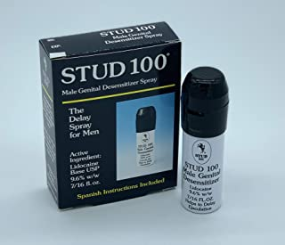 Stud 100 Male Genital Desensitizer Spray, 7/16- Fl. Ounce Box (Pack of 2)