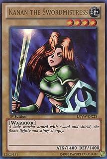 Yu-Gi-Oh! - Kanan the Swordmistress (LCYW-EN228) - Legendary Collection 3: Yugi's World - 1st Edition - Ultra Rare