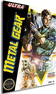 Poster Retrogame - Metal Gear - Formato (42x30 cm)