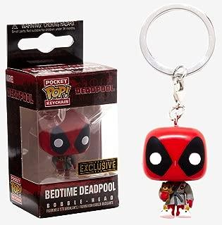 Funko Pocket POP! Marvel Bedtime Deadpool Exclusive Keychain