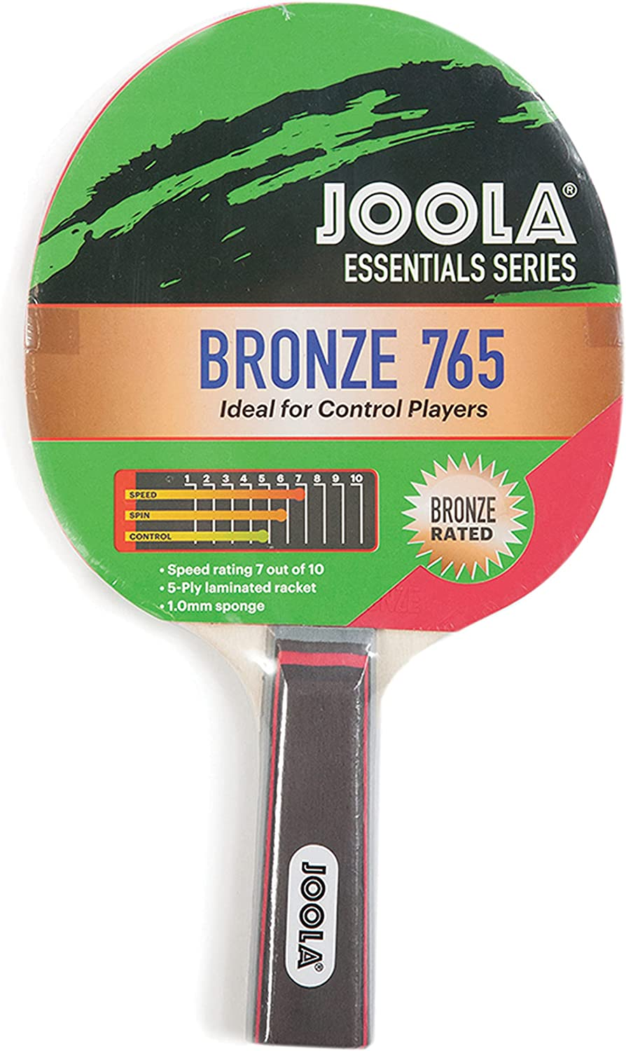 JOOLA Essentials Bronze 765 Ping Award-winning store Pong Paddle Table New Shipping Free Shipping Entry Level -