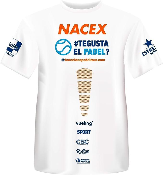 Barcelona Padel Tour Camiseta Manga Corta T/écnica Joma Xpress Hombre Negro XXL