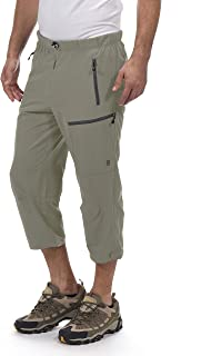 Men's Outdoor Stretch Quick Dry Hiking Capri Pants