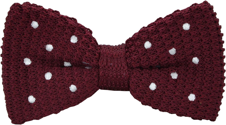 SYAYA Boy's Knit Bow Tie, Vintage Fashion Woven Pre Tied for Kids CLJ09 (8)