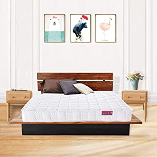 DOSLEEPS Super Comfort Hybrid Pocket Innerspring Mattress Set with 3D Knitted Dual-Layered Breathable Cover-7''-Certified by CertiPUR-US-100 Night Trial (Twin)