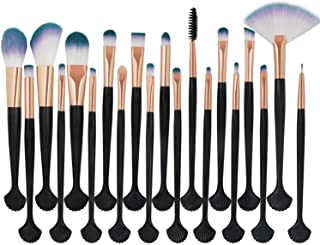 20Pcs Beauty Makeup Brushes Set Powder Foundation Eye Shadow Contour Concealer Cosmetic Shell Make Up Brush Tools Kit Maquiagem,HMJ
