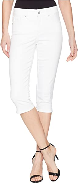 NYDJ Skinny Capris in Optic White