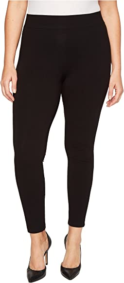 HUE - Plus Size Temp Control Cotton Leggings