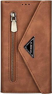 Miagon for Samsung Galaxy A32 5G Crossbody Zipper Case,Wallet Purse Handbag with Wristlet & Shoulder Strap Card Slots Pock...