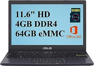 Asus L210 2021 Premium Thin and Light Laptop Computer I 11.6