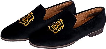 Hush Berry Velvet Designer Shoe spacial Design for Men