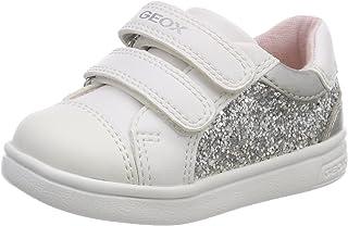 Geox B Djrock Girl E, Sneakers Basses Fille