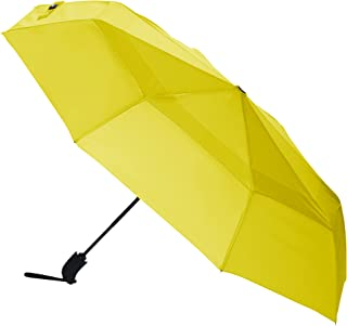 AmazonBasics Umbrella with Wind Vent, Yellow