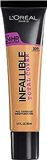 L'Oréal Paris Infallible Total Cover Foundation, Caramel Beige, 1 fl. oz.