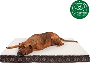 مرتبة سرير الحيوانات الأليفة ميموري توب للكلاب والقطط من فرهافن, Jumbo, Dark Espresso