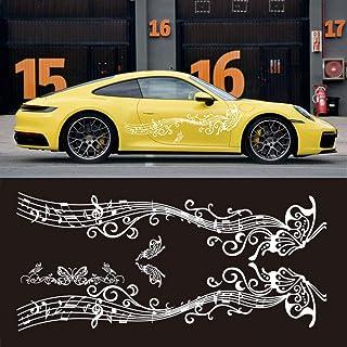 Dogggy Autoaufkleber Styling Modifizierte Fahrzeugapplikation Karosserie Girlande Schmetterling Aufkleber Auto Dekorativ