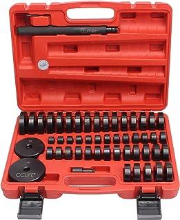 CCLIFE 52tlg Radlager Druckstück Montagescheiben Satz Buchsen Treibsatz Lagerpresse Werkzeug