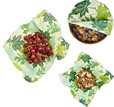 Bees Wrap Reusable Food Wraps Assorted Set, Forest Floor (3 Pieces)
