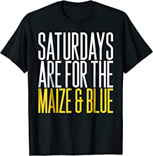 'Saturdays Are For The Maize and Blue' Sport Shirt
