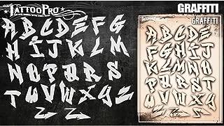 Tattoo Pro Stencils - Graffiti Letters Set