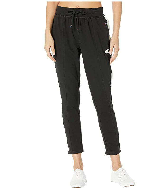 Champion  Heritage Pants with Taping (Black) Womens Casual Pants