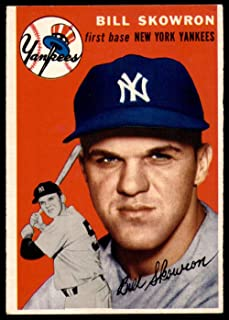 1954 Topps #239 Bill Skowron UER Very Good RC Rookie Yankees