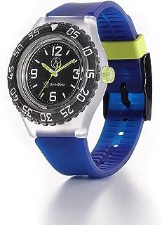 Q&Q Boys RP16J007Y Year-Round Analog Solar Powered Blue Watch