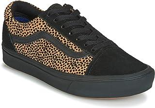COMFYCUSH Old SKOOL Zapatillas Moda Mujeres Negro/Naranja Zapatillas Bajas