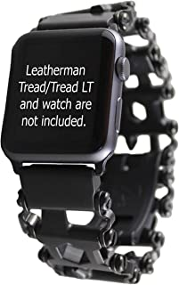 BestTechTool watch adapter compatible with LEATHERMAN TREAD - BTT adapter (compatible with G-Shock (see description), BLACK, TREAD)