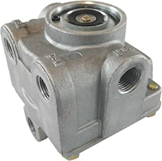 R-12 Air Brake Relay Valve with Horizontal Delivery Ports for Heavy Duty Big Rigs