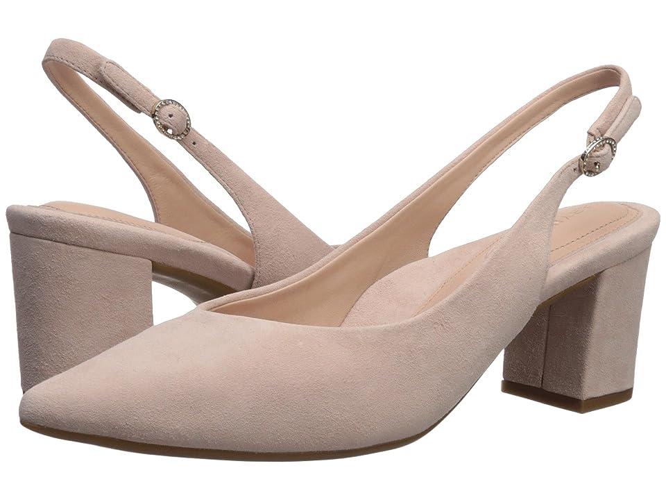 Taryn Rose Marcy (Blush Suede) High Heels