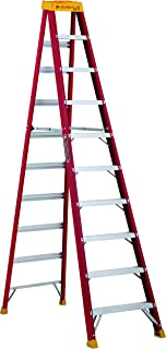Louisville Ladder L-3016-10 300-Pound Duty Rating Fiberglass Stepladder, 10-Feet