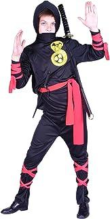 Rg_costumes Boys Cobra Ninja-chd Lrg Black Medium