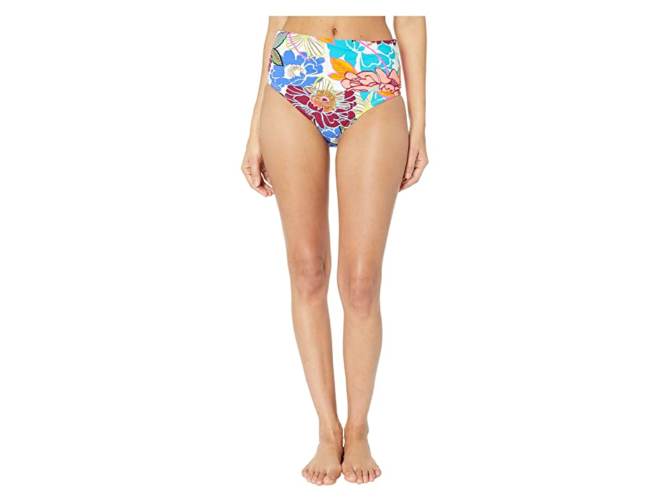 Trina Turk Radiant Blooms High-Waist Bottoms (Multicolored) Women