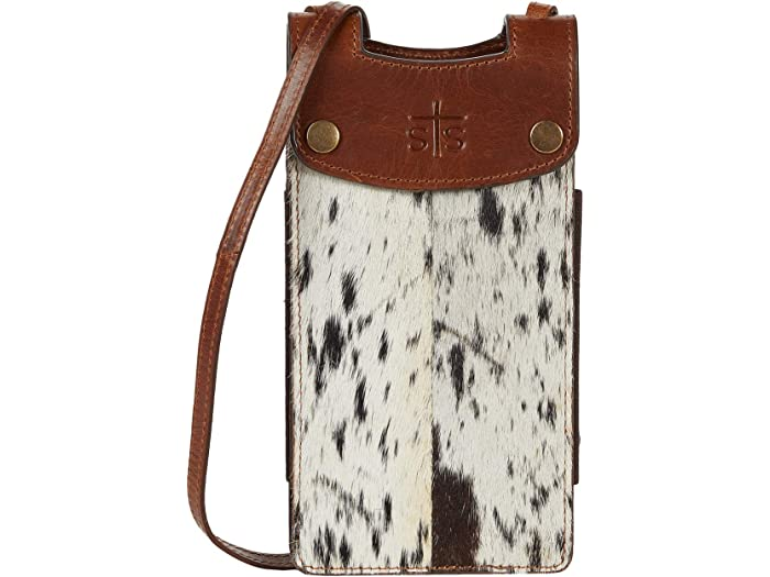 STS Ranchwear Cowhide Cell Phone Crossbody Bag