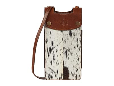 STS Ranchwear Cowhide Cell Phone Crossbody
