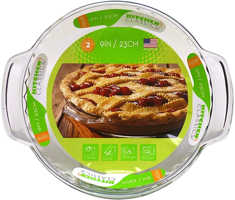 Kitchen Classics Ovenware 9 Deep Pie Plate