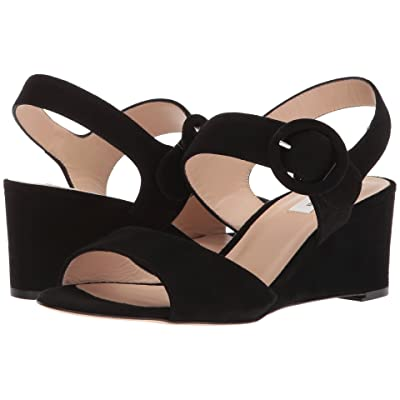 L.K. Bennett Bailey (Black Suede) Women