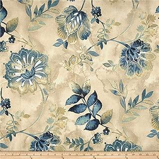 Kelly Ripa Home Light Hearted Fabric, Indigo