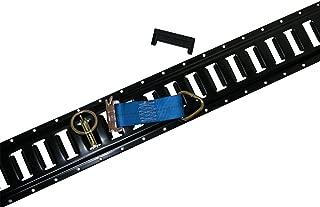 32pc E Track Kit f Enclosed Trailer Tie Down Cargo Van ATV UTV Quad Toy Hauler