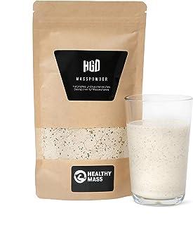 MASS POWDER | Natürliches und kalorienreiches Basispulver für Masseshakes | natürliche 1.000 Kcal | hoher Eiweißgehalt | perfekt für Hardgainer, Masseaufbau, Zunehmen | 1.550 g 10-15 Portionen